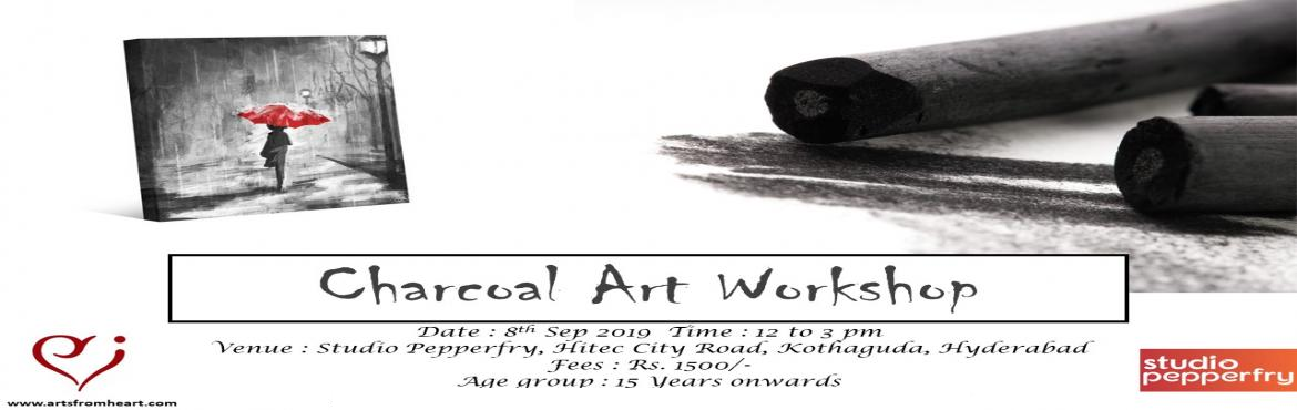 Book Online Tickets for Charcoal Painting Workshop, Hyderabad. Looking to do something super fun and new on weekends?  Here\'s the perfect chance to explore your creativity and get in touch with your inner artist. Ditch your phones and get your hands on Charcoal & paper. Come by and paint with us! We ma