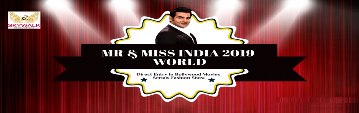 Book Online Tickets for Mr Miss India 2019 Modeling Casting , New Delhi.  Mr Miss India 2019 Modeling Casting  You are looking for a great platform to start your career in Bollywood Industry if so, Great News for all youths who have passion to earn name fame in Glamorous industry. In this season glamorous of Mod