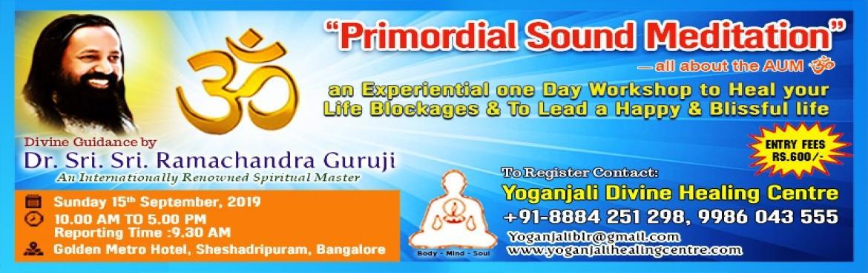 Primordial sound meditation by Sri Sri Ramachandra Guruji - Bengaluru |  MeraEvents com