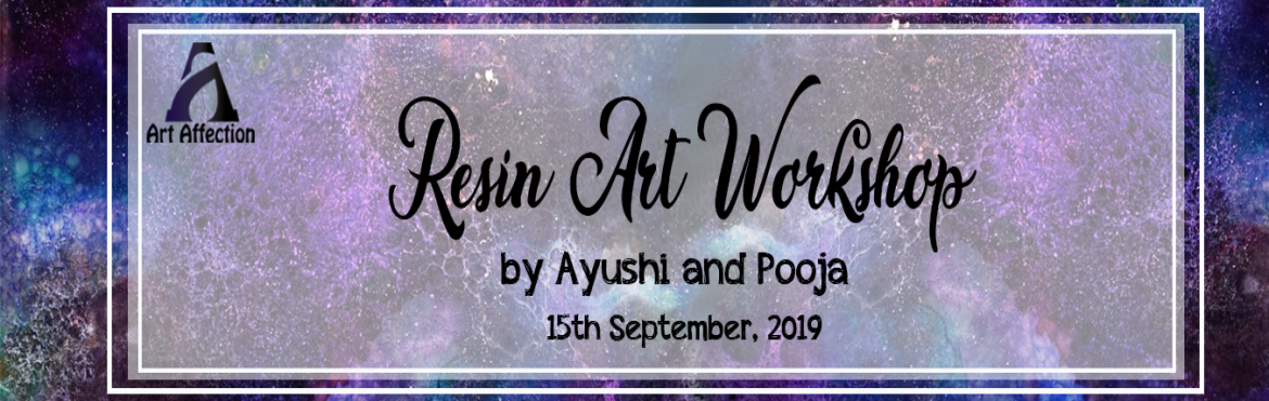 Book Online Tickets for Resin Art Workshop, Hyderabad.  Hey you! come accentuate your love for art with one of our most loved material to work with : Resin. Our galaxy themed workshop is sure going to drive you insane.Resins have become increasingly popular creative that are being hung and admired i