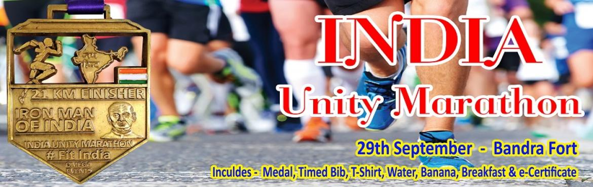 Book Online Tickets for India Unity Marathon - 2nd Edition, Mumbai. India Unity Marathon - 2nd Edition  Qualifier Run for all Major Marathons in India. Event is under aegis of MSDAA (Mumbai Suburban District Athletic Association) Run will be on scenic Bandstand Carter Road Route. On 29th September 2019 We