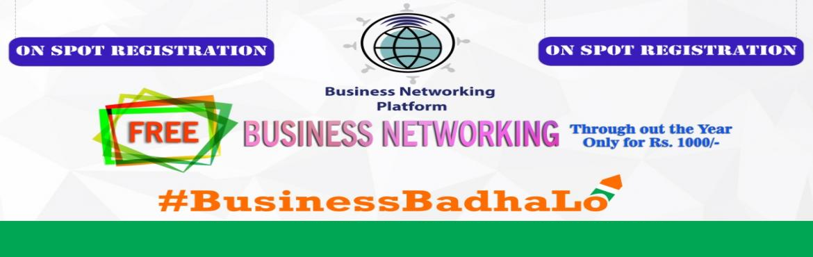 Book Online Tickets for Business Networking Meet, Noida. Business Networking Platform (BNP) in association with World Association of Small & Medium Enterprises (WASME) invites you for a grand networking platform.A great opportunity for Small, Medium and High Profile businesses for networking where they