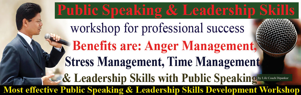 Book Online Tickets for Stress Management, Relationship Manageme, Hyderabad. Stress Management, Relationship Management, Public Speaking and Leadership Development Skills Development workshop. Its a 12 weeks program to get rid of stage fear, stress and to become a confident communicator and Leader. Would you like to improve y