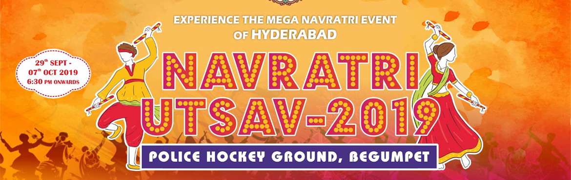 Book Online Tickets for Navratri Utsav 2019, Hyderabad. Navratri Utsav-2019 Season 2, organized together by Navkar Darshan, Infinity Concerteum & Neemax - is not just a garba and dandiya event , it's a festival itself reflecting the culture, grandeur, authenticity and ethnicity of the season in