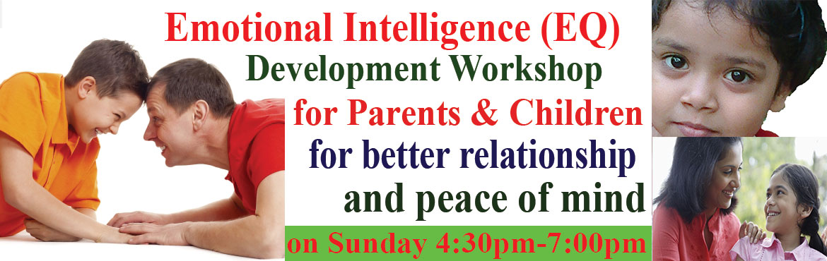 Book Online Tickets for EQ development Workshop for Students abo, Hyderabad. EQ development Workshop for Students above 14 years age Online registration Rs.500/- which include Workshop Booklet Worth Rs.299/- abosutely free, otherwiseregistration fees is Rs1000/-at the venue There is no end to growth. We can keep growing