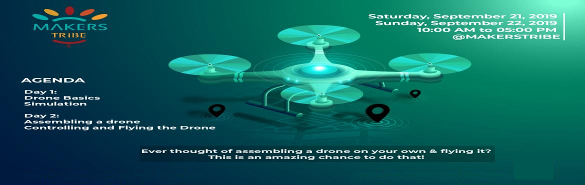 Book Online Tickets for Drone Hack - Build and Fly Your First Dr, Chennai. Ever thought of assembling a drone on your own & flying it?This is an amazing chance to do that!A drone transported blood samples for over 36 kilometers from a remote place in a short amount of time.The capabilities of drones are amazing!Drones c