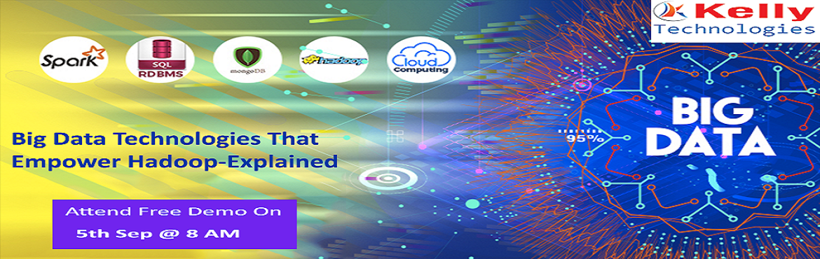 Book Online Tickets for Free Demo on Hadoop Training By Experts , Hyderabad. Step Up For Free Demo on Hadoop Training By Big Data Experts At Kelly Technologies Scheduled on 5th Sep @ 8 AM Hyderabad. About The Demo: A career in the field of Hadoop is considered to be the most promising with a number of opportunities for career