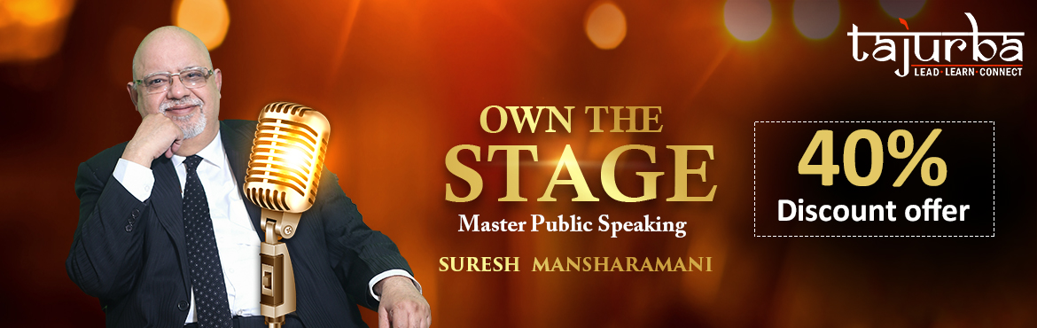 Book Online Tickets for Biggest Workshop on Public Speaking in D, New Delhi.  WHO IS THIS WORKSHOP FOR?  Entrepreneurs Aspiring Entrepreneurs Start-ups Professionals Coaches Trainers  The power of your voice Speaking is the greatest doorway to meet your needs. It's the doorway as a businessman, as a parent, as a co