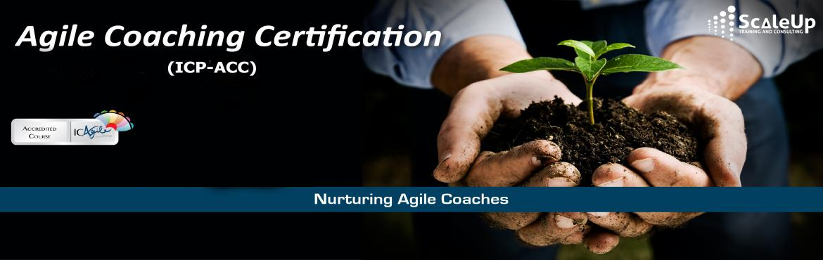 Book Online Tickets for Agile Coach Certification, Mumbai - 13 S, Mumbai. The Agile Coaching Workshop (ICP-ACC) is a 3-days face-to-face training program with the primary objective to make learners efficient in coaching agile teams. It helps the participants understand and develop the essential professional coaching skills