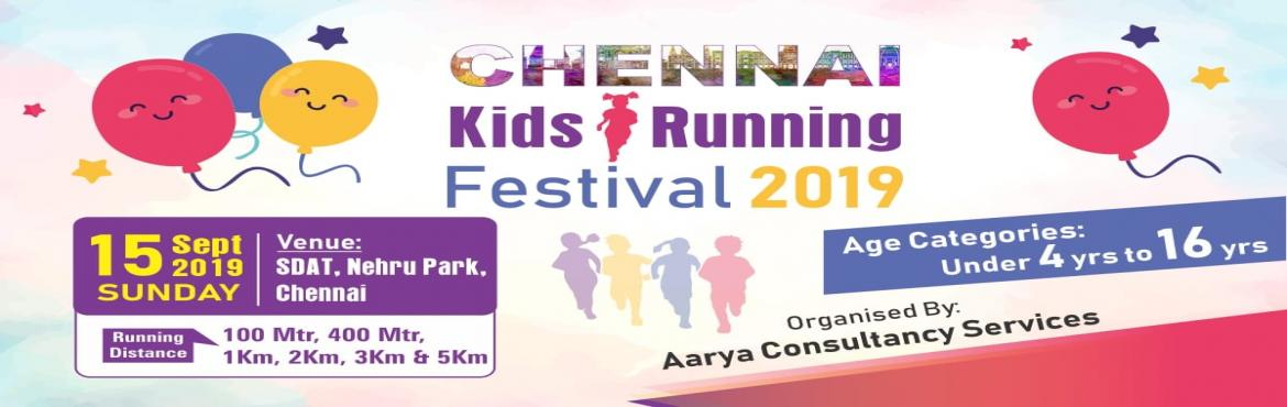 Book Online Tickets for Chennai Kids Running Festival 2019, Chennai.   Chennai Kids Running Festival 2019  Date: 15th September 2019 Venue: Sports Development Authority of Tamil Nadu, Chennai.   OPENERS – 100 MTRS & 400 MTRS Age – 4 to 8 years The 'openers' are our littl