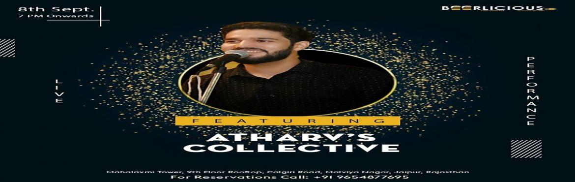 Book Online Tickets for LIVE MUSIC PERFORMANCE BY ATHARAV S COLL, Jaipur. Catch Atharv\'s Collective this #Sundayonly @beerlicious1