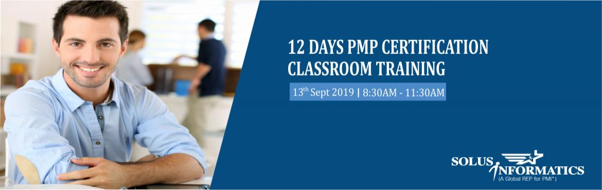 Book Online Tickets for 12 Days of PMP Certification Training in, Hyderabad. 12 days of PMP Training in HyderabadGet Enrolled now at 30% Discount...!!! This training will give you the confidence to appear and PASS the PMP Exam in 1st attempt.  • 35PDUs• 35 hours of instructor-led training• 100% Pass guarantee&b