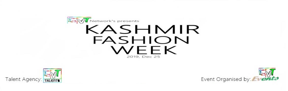 Book Online Tickets for Kashmir Fashion Week by GVT Network, Karachi. The Kashmir Fashion Week is GVT Network\'s inaugural event, featuring 36 of Internationally leading and emerging designers. Talent Agency: GVT Talents Event Organised by: GVT Events
