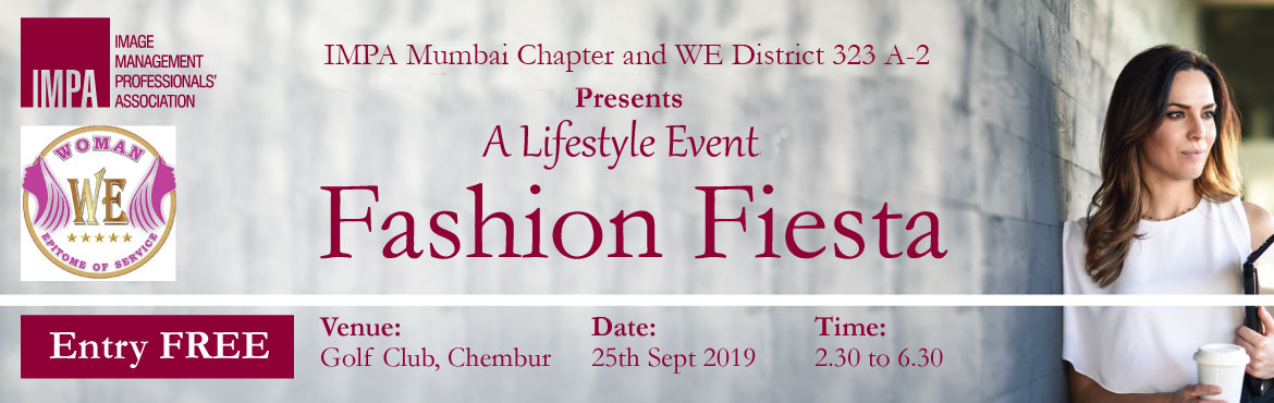 Book Online Tickets for A Fashion Fiesta, Mumbai.     STYLING WORKSHOP & ONE TO ONE STYLING TIPS BY IMAGE CONSULTANTS AS PER YOUR BODY SHAPE AND FACE SHAPE    Date: 25th September, 2019  Time: 2:30 pm to 6:30 pm  Venue: Bomb
