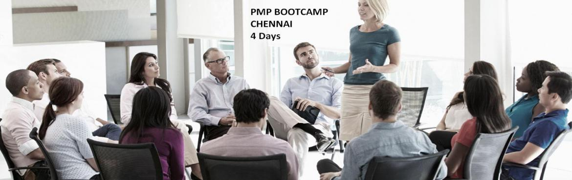Book Online Tickets for PROJECT MANAGEMENT PROFESSIONAL PMP WORK, Chennai. 4 days PMP 35 Hours Project Management Training Course Agenda Day 1: Introduction • PMP® Requirements • Exam Questions • Maintaining Certification • Exam-Taking Tips Project Management Concepts PM Process Groups and Knowledge