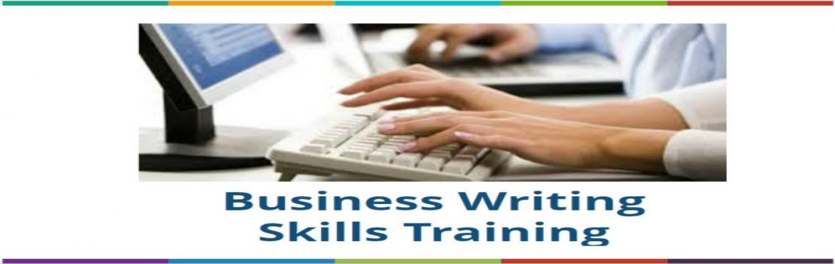 Book Online Tickets for BUSINESS WRITING SKILLS , Mumbai. Take the strain out of composing any kind of document! Would you like a quick and easy method for composing documents,letters, memos, reports, proposals and performance appraisals in an organized format? This seminar provides you with basic formats a