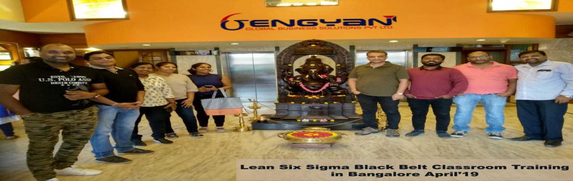 Book Online Tickets for Lean Six Sigma Green Belt Classroom Trai, Bengaluru. GenGyan announces Accredited Lean Six Sigma Green Belt Certification Classroom Training at Bangalore @ 12th Oct. Master Black Belt (Champion)Shylesh Sethia who comes with 26 years of experience and has a very strong forte in Lean Six Sigm