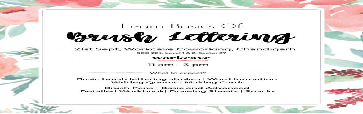 Book Online Tickets for Learn Basics of Brush Lettering, Chandigarh. About the Artist Simran is a professional calligrapher who is skilled in numerous scripts and has taught more than 200 students till date. This is the first time that she is conducting a workshop in Chandigarh. About the Session- This is a begi