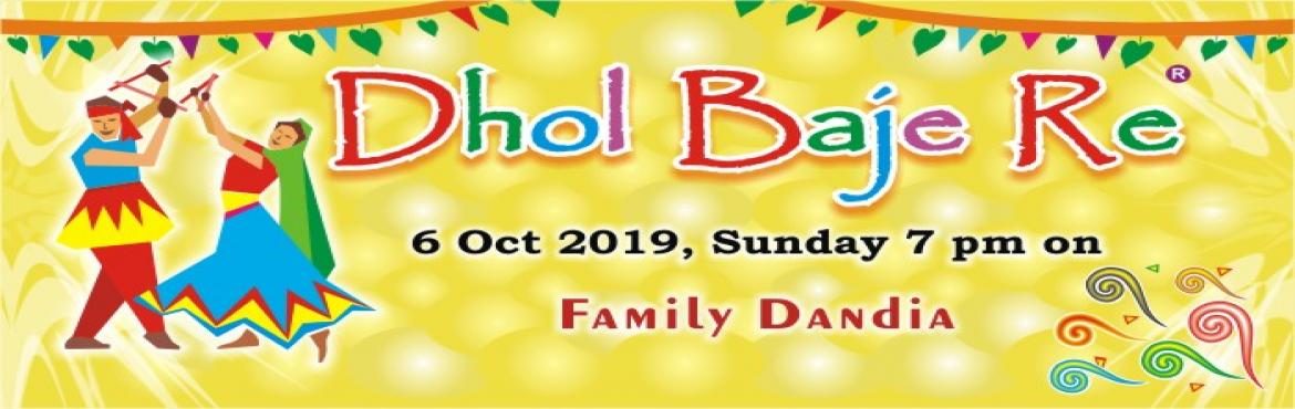 Book Online Tickets for Dhol Baje Re (annual family dandia) , Jaipur. Kanchan Kesari Village Resort announces the 16th Edition of its Annual Family Dandia Dhol Baje Re. Held on the Sunday within Navratras, it is Jaipur's third largest public dandia. Pocket friendly ticketing based on company's val
