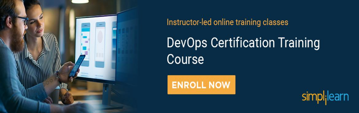 Book Online Tickets for DevOps Training Course in Bangalore, Bengaluru. ThisDevOps Certification Training Course in Bangalore will prepare you for a career in DevOps, the fast-growing field that bridges the gap between software developers and operations. You'll become an expert in the principles of continuous