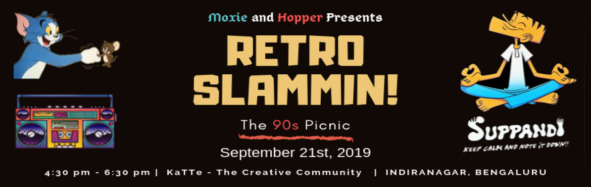 Book Online Tickets for Retro Slammin, Bengaluru. \'Ah man, those were the times!\' Haven\'t we all thought of this line at least once a month! In times of extreme stress and uncertainty, we are haunted by our happy childhood memories and rely on them to remind us of happier times.... So