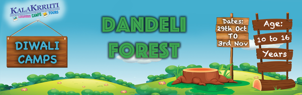 Book Online Tickets for Diwali Camp for Kids : Dandeli Forest, Dandeli.  KALAKRRUTI Enterventure Holidays, Where the name itself suggest a Magical combination of ENTERTAINMENT & ADVENTURE. Born out of Passion in 1995, has created wonders to satisfy more than 60000 participants by adding the flavour of Fun, Thrill, En