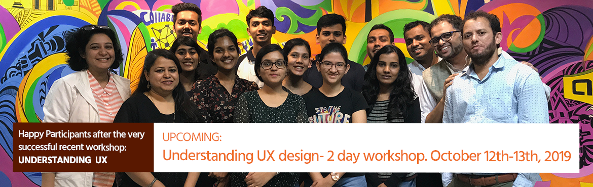 Book Online Tickets for Understanding UX - Level 2, a two day wo, Pune. After the very successful Understanding UX workshop recently, Designtatwa is back with its more intensive 2 day workshop for aspiring designers as well as design professionals. Understanding UX design- 2 day workshop Get acquainted with each of the s