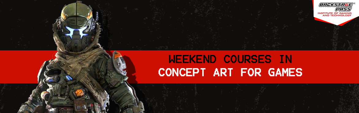 Book Online Tickets for Weekend course in Concept art for games, Hyderabad. Are you someone with good skills in drawing and sketching? Learn more and Earn more with Backstage Pass's weekend course inconceptartforgames, mentored by Benoy Koley- Master inconceptart, Character and Props