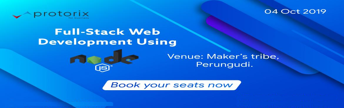 Book Online Tickets for NodeJS : Full Stack Web Development Work, Chennai. Are you unfamiliar with NodeJS, and are curious to learn about this fascinating environment? Do you have the NodeJS basics, but would like to tighten your understanding and learn a little more? If so, then this workshop is for you. Node.jsis a