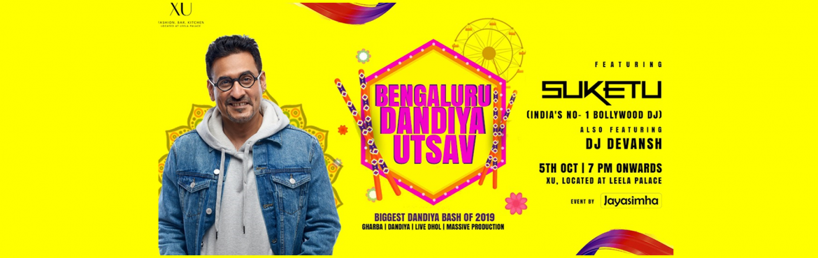Book Online Tickets for Bengaluru Dandiya Utsav with DJ Suketu a, Bengaluru. It's that time of the Year, that we\'ve been waiting for!!! \
