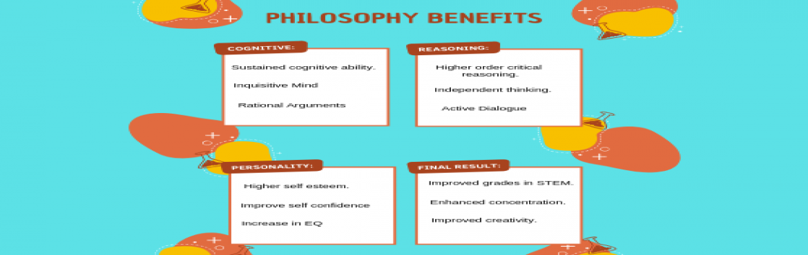 Book Online Tickets for Philosophy For Kids - With P4C, Bengaluru. Have you ever wondered if your children are thinking and thinking right?  Do they understand the difference between right/wrong, fair/unfair? What\'s the basis of their ethics, values, and judgments? Do they know who they are?  Philosophical Inquiry