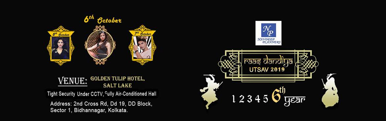 Book Online Tickets for Raas Dandiya Utsav 2019, Kolkata. Raas Dandiya Utsav 2019 Wondering which dandiya event to attend this season? End your confusion becauseRaas Dandiya Utsav,the biggest and most loved dandiya event of the City is back as Raas Dandiya Utsav 2019 atGOLDEN T