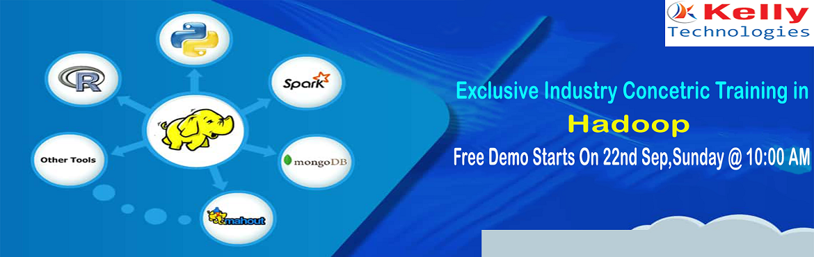 Book Online Tickets for Attend Free Demo on Hadoop Training By K, Hyderabad. About The Demo: The demand for the qualified professionals in the field of Big Data Hadoop has been predominantly increasing with the ongoing time. Most of the organizations are in search for more innovative ways to wrangle enormous levels of d