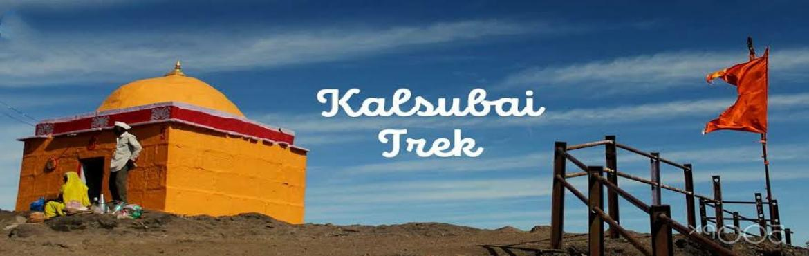 Book Online Tickets for Kalsubai Peak trek, Pune.   Kalsubai with its towering height of 5400ft, recognised as the highest peak of Maharashtra. It is situated on Kalsubai mountain range which is an offshoot range from main sahyadri range and rung from west to east. The name of this mountain ra