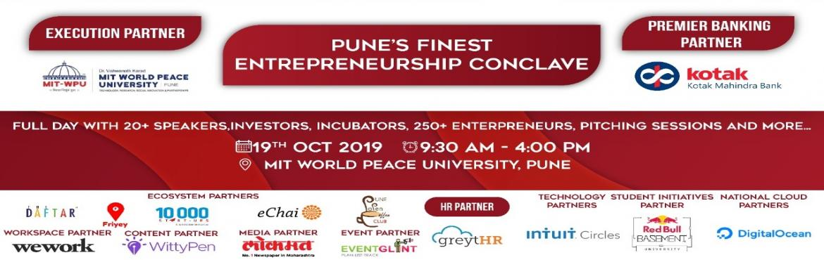 Book Online Tickets for Pune Finest Entrepreneurship Conclave | , Pune. Headstart Pune\'s Startup Saturday is crossing its 125th milestone, and we are celebrating this Spirit of Entrepreneurship with a Bang!  Startup Saturday is one of India\'s most popular startup events. It is organized on the 2nd Saturday of eve