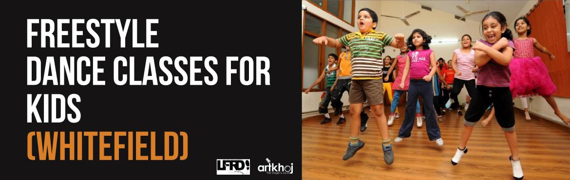 Book Online Tickets for Freestyle Dance Classes for Kids (Whitef, Varthur. Dance in any form opens up the mind to newer possibilities even as the rhythmic steps lend the body flexibility and stamina. Regular dance practice can increase your child\'s flexibility, range of motion, physical strength an