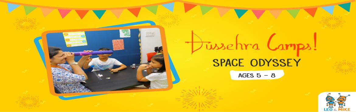 Book Online Tickets for Space Odyssey Camp for Ages 5-8 , Hyderabad.  This Dussehra vacation, let your child explore and uncover the fun side of science! Let them tinker, experiment, design, build, play and have fun at the 2-day hands-on camps by Leo & Mike.   Prep your child for Chandrayaan 3 with Leo &