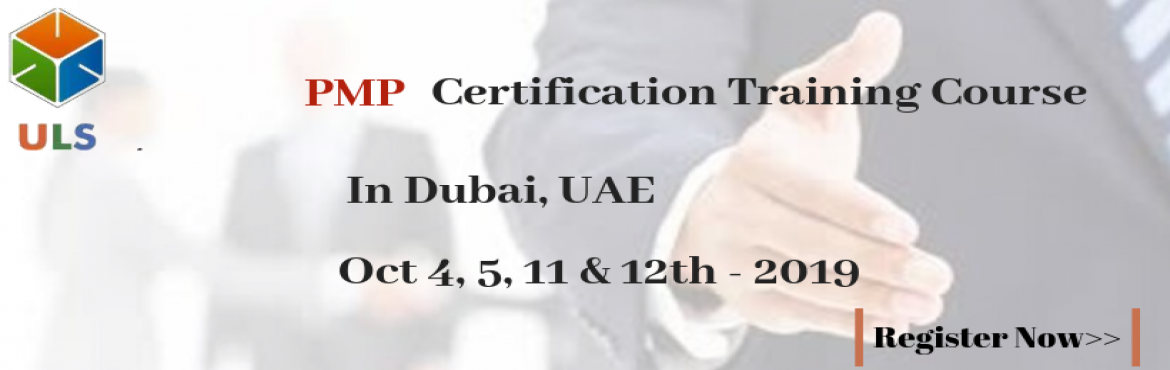 Book Online Tickets for PMP Online Certification Training Course, Al Kaheel. UlearnSystem's Offer PMP Certification Training Course in Dubai, UAE. Enroll for interactivePMP Certification Training in Dubai, United Arab EmiratesfromUlearn Systems, Top project Management Training (PMP Training) in Dubai.
