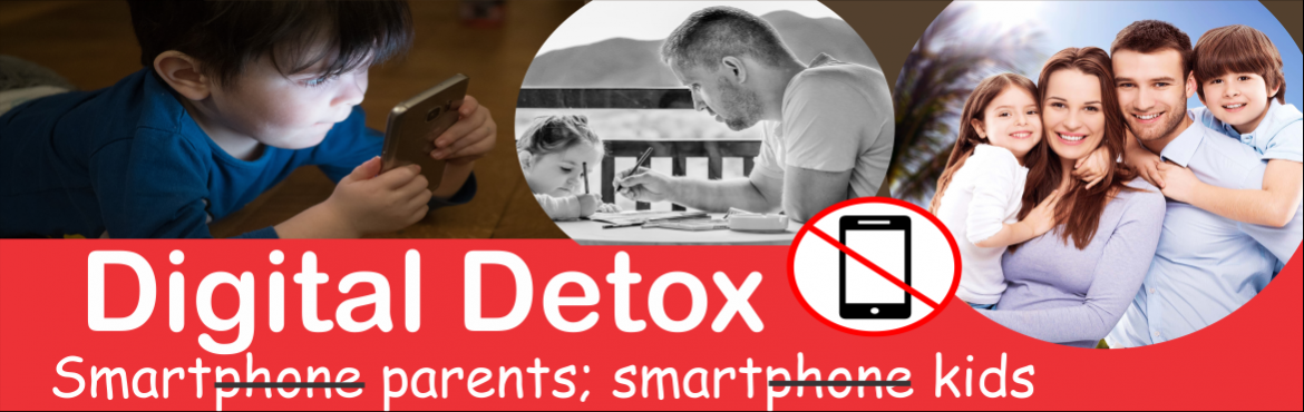 Book Online Tickets for Digital Detox for smart parents and smar, Bengaluru. Dear Parents,  Is your child preoccupied with gadgets even while not actively using them? Trying hard to concentrate and losing interest in academic achievement. Reduces outdoor activity, is constantly preoccupied with his/her cell phone, and p