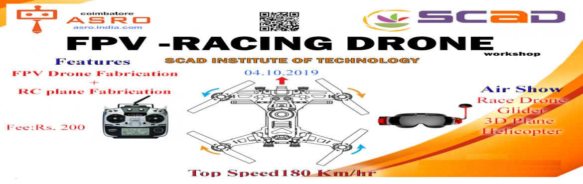 Book Online Tickets for FPV Racing drone and RC Plane Fabricatio, Tiruppur. FPV drone will be fabricated from scratch and the fabricated drone will be tested. A RC plane also fabriated from the scratch within in 10 minitues. Finally a Air show also planned . Racing drone , RC plane glider type, 3D plane , Helicopter