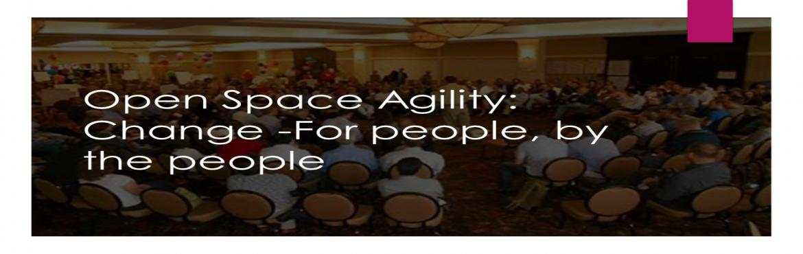 Book Online Tickets for Open Space Agility Level 1 Certification, Gurugram. Do you want to save hundreds of thousands of dollars in the training and coaching costs of implementing Agile? OpenSpace Agility will help you achieve these savings by being veryefficient.  OpenSpace Agility achieves these cos