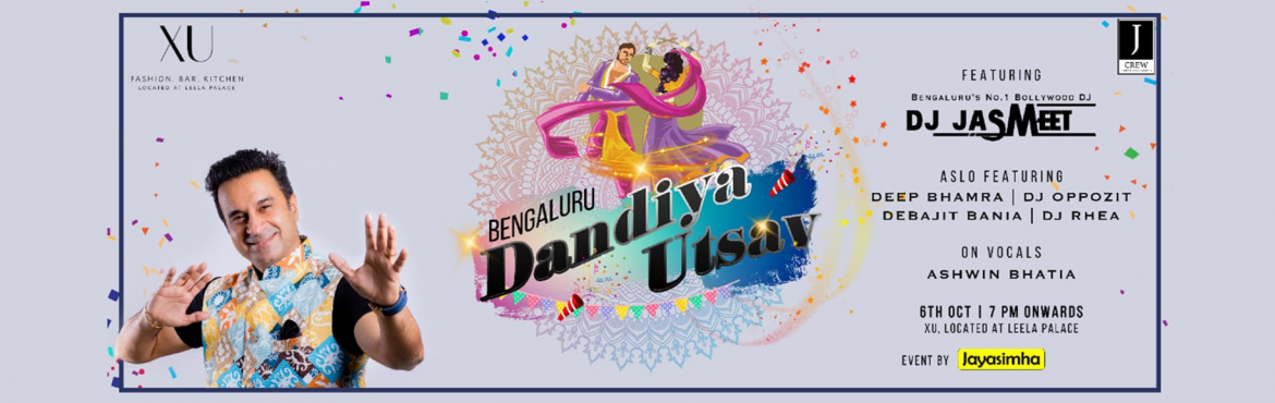 Book Online Tickets for Bengaluru Biggest Dandiya Utsav with DJ , Bengaluru. Its that time of the Year, that we\'ve been waiting for!!!\