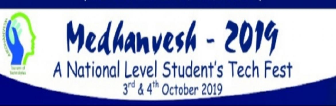 Book Online Tickets for Medhanvesh 19 , Hyderabad.  BVRIT Hyderabad college of Engineering for Women aims at Empowermentof women engineers and technocrats with emphasis on academicexcellence, life skills and human values.MEDHANVESH, a National level Students\' Tech Fest is held on 3rd and4th Oct