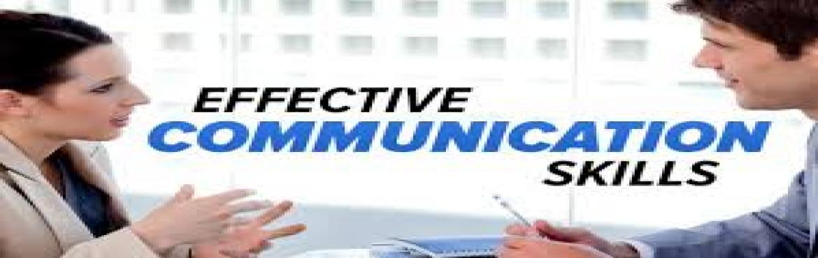 Book Online Tickets for EFFECTIVE COMMUNICATION SKILLS, Mumbai. The communication skills workshop provides an opportunity for participants to look at and get feedback on their own communication style – to highlight the resources, strengths and talents they already have. There is practical work on list