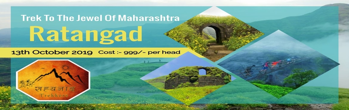 Book Online Tickets for One Day Trek to Ratangad (The Jewel of S, Pune. Event Name:- Trek to Ratangad Fort Date - 13th October. Time - 12am to 9pm. Transportation - Private Bus. Difficulty - Medium. Fees - 999/- Rs. Fees include- Transport, Breakfast, Lunch, Tea, First Aid, Guide, and Expertise Charges.   What Incl