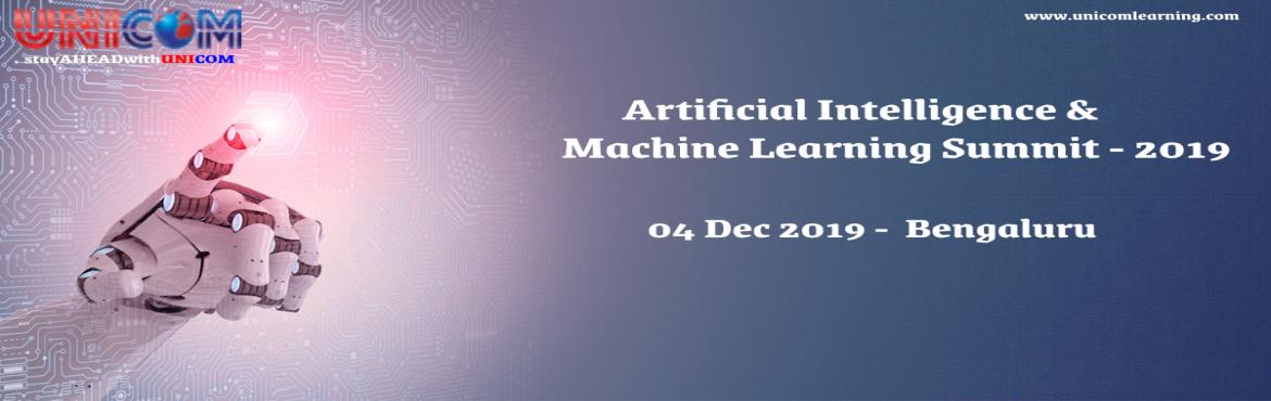 Book Online Tickets for Artificial Intelligence and Machine Lear, Bengaluru. Artificial Intelligence and Machine Learning have become one of the hottest topics in business. An army of startups has been funded to pursue the commercial opportunities, whilst the bosses of big companies increasingly look to implement AI str