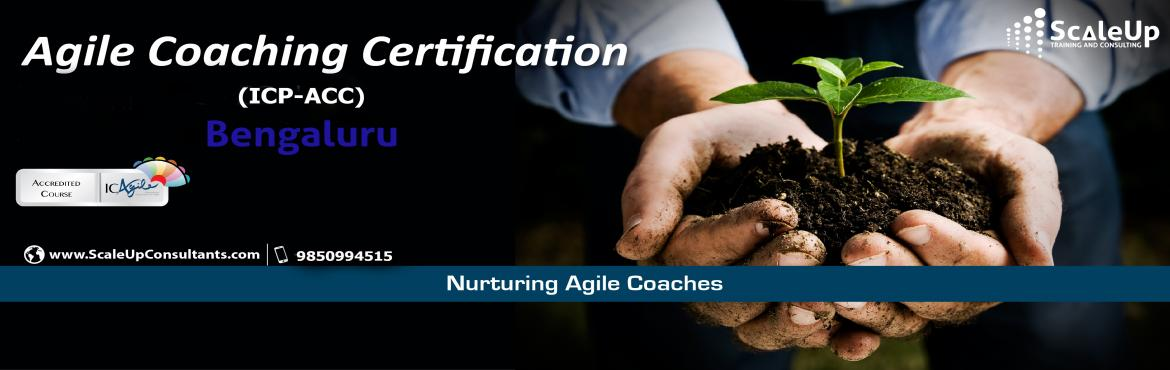 Book Online Tickets for Agile Coach Certification, Bangalore - D, Sarjapur A. The Agile Coaching Workshop is a 3-days face-to-face training program with the primary objective to make learners efficient in coaching agile teams. It helps the participants understand and develop the essential professional coaching skills, apprecia
