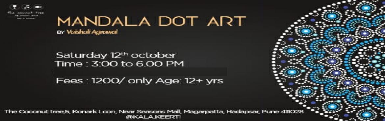 Book Online Tickets for Mandala Dot Art Workshop, Pune. ArtistVaishali Agrawal(founder ofKalaKeerti) is conducting aMandala Dot Art workshopatThe Coconut Tree, Magarpatta, Hadapsarduring these auspicious festivals .  A Mandala is a complex abstract des