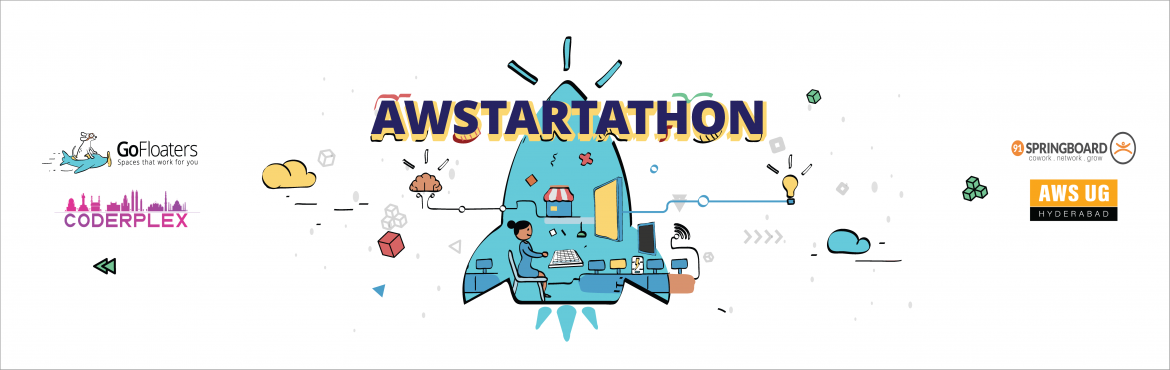 Book Online Tickets for AWStartathon : Build Your Startup on AWS, Hyderabad. AWSUGHYD is organizing AWStartathon, a 34 hour over-night Hackathon you can particiate in to build your startup idea, network with investors and experts and win free AWS Credits worth upto $1000 USD (for qualifying startups, T&C apply), free