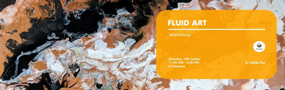 Book Online Tickets for Fluid Art Workshop, Hyderabad. This is a form of abstract art that uses acrylic paints to create fun, vibrant and psychedelic paintings . In this workshop you will learn various techniques of pouring paint that are not just super fun and mesmerising, but also interesting and thera